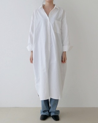 soft long shirt ops (3color)