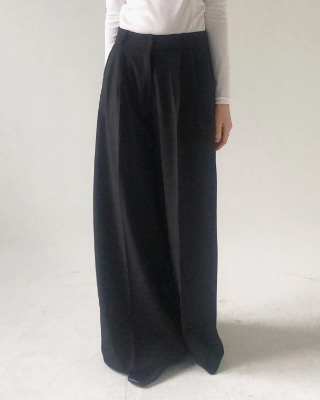sand wide pants (3color)