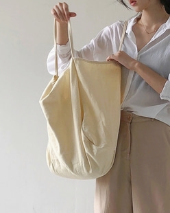 natural shoulder bag, cream ivory
