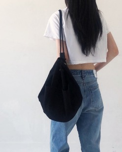 Daily strap bag (2color)
