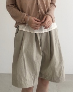 Linen Jamaica shorts (4color)