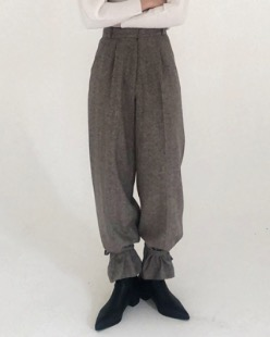 [한정수량] herringbone wool pants (2color)