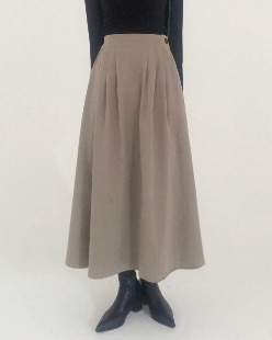 suede mood skirt (2color)