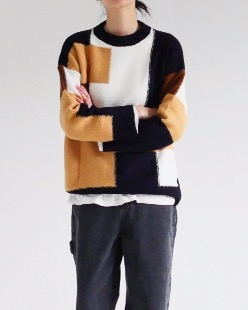 maze wool knit (3color)