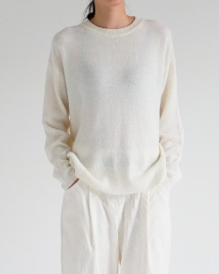 basic wool knit (2color)