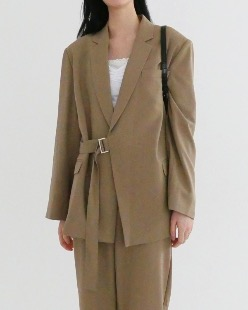 elly strap jacket (2color)