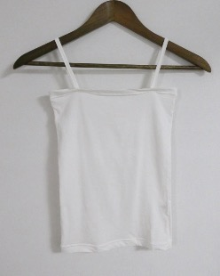simple square sleeveless (2color)