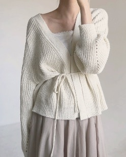 blooming cardigan (3color)