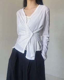 golgie slit cardigan (2color)