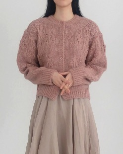 lua knit cardigan (4color)
