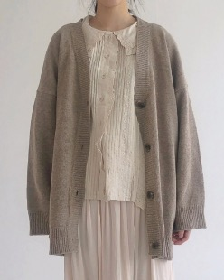 wool baxi cardigan (3color)
