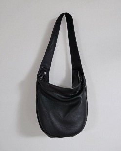 leather hobo bag (2color)