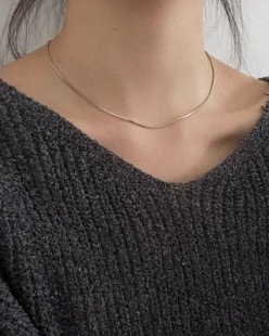 minimal necklace (2color)