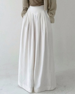 gemma wide long pants (3color)