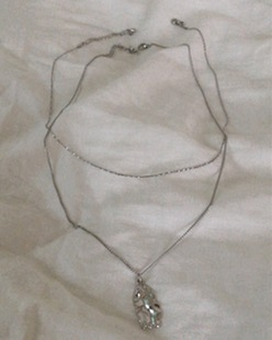 two way Irregular necklace (2color)
