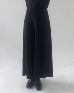 cozy two slit skirt