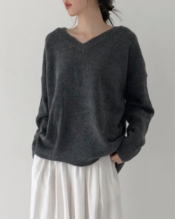 basic volum knit (4color)