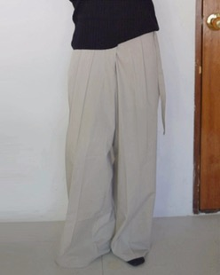 gurkha cotton pants (2color)