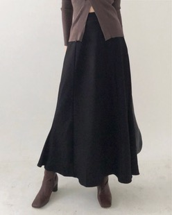 ozue flare long skirt (2color)