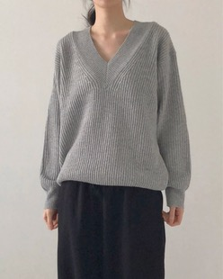 comfy wool knit (4color)