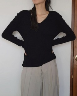 cashmere golgi knit (3color)