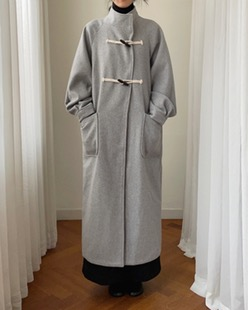 duffle over long coat (2color)