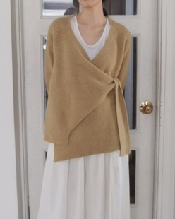 lily wrap cardigan (3color)
