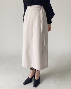 double D ring skirt (2color)
