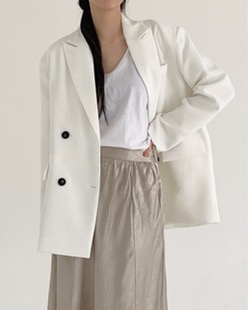 modern plain jacket (3color)