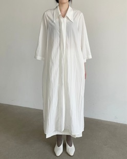 cosy long shirt ops (2color)