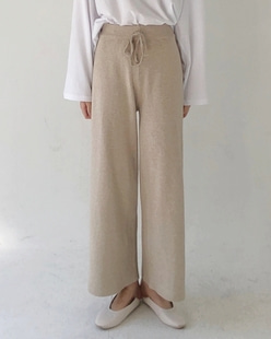 Natural knit pants (3color)