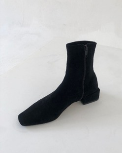 Suede socks boots