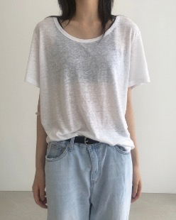 Easy linen tee (3color)