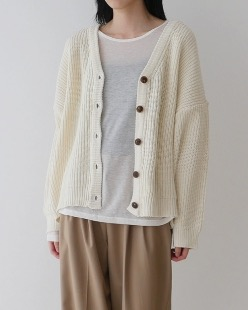 golw knit cardigan (5color)