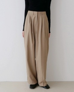 double pintuck pants (2color)