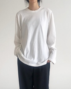 simple overfit tee (5color)