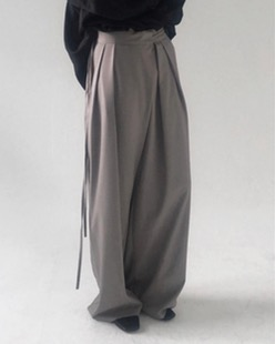 loose maxi pants (2color)